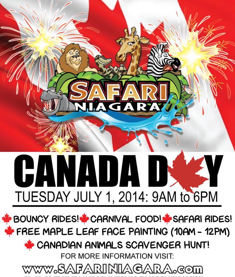 Canada Day Niagara Falls
