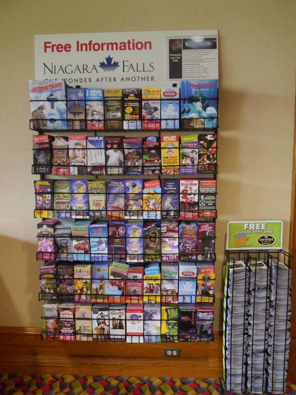 Niagara falls tourism coupons