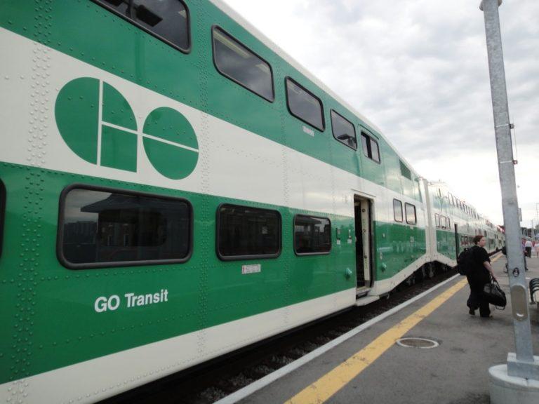 Go Transit Schedule to Niagara Falls for Thanksgiving