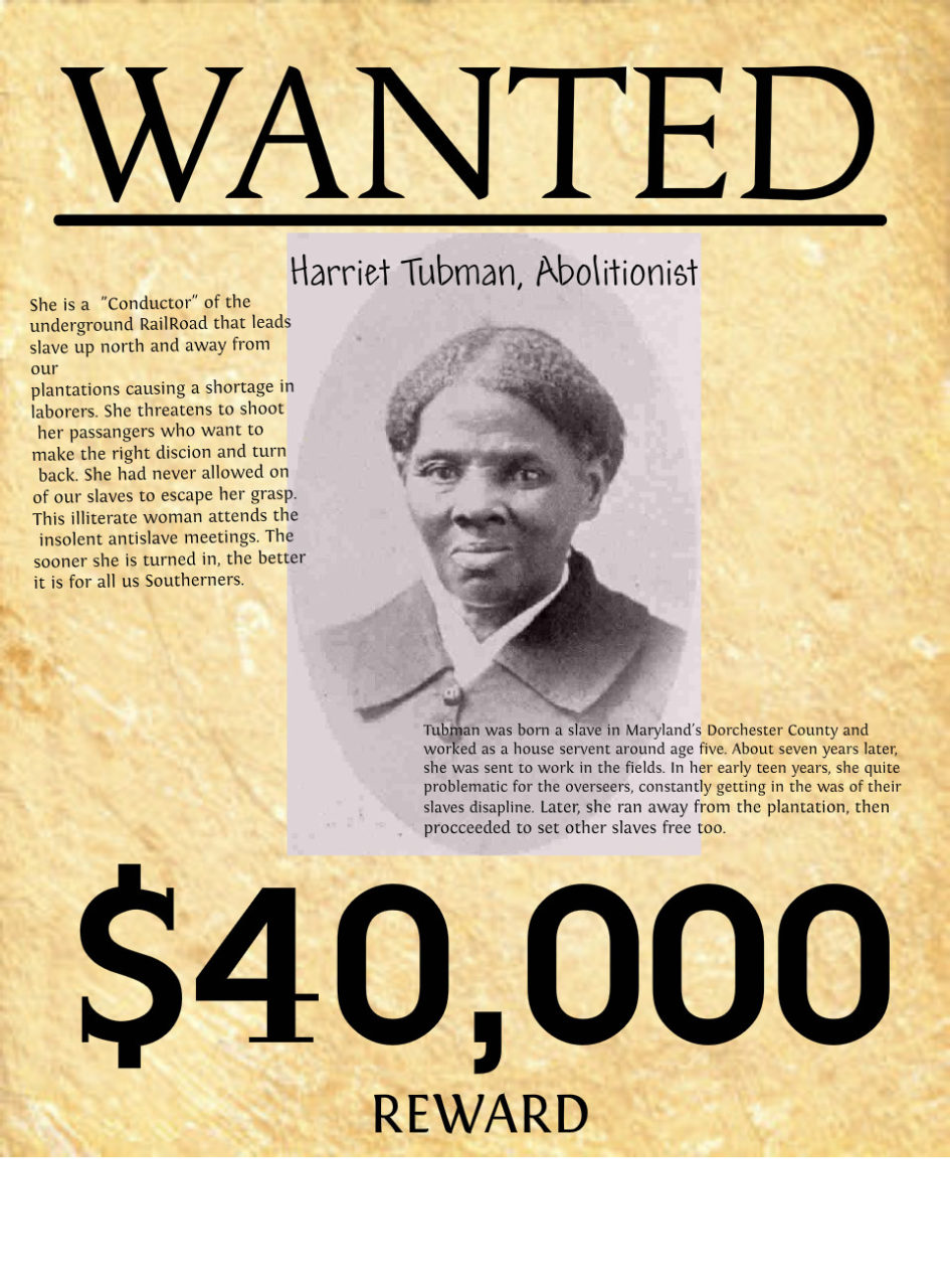 a biography of harriet tubman an abolitionist Harriet tubman was an african american abolitionist who led hundreds of enslaved blacks to freedom this biography of harriet tubman provides detailed information about her childhood, life, achievements, works & timeline.