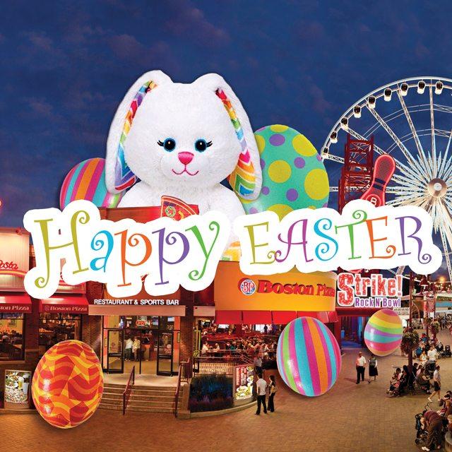 Easter in Niagara Falls