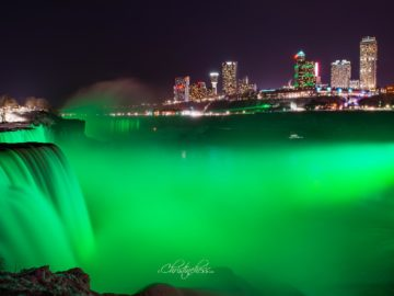 Earth day in Niagara Falls