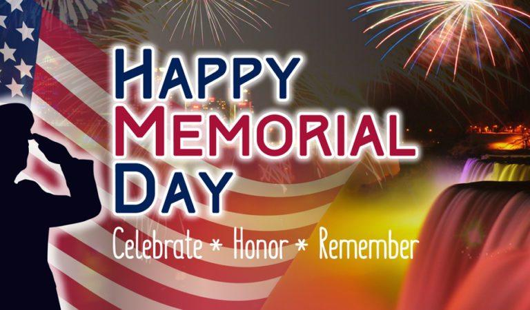 Celebrate Memorial Day in Niagara Falls!