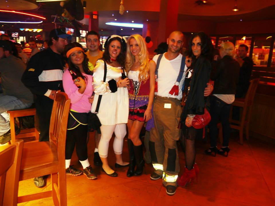 Boston pIzza Clifton Hill for Halloween