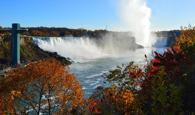 American Thanksgiving in Niagara Falls
