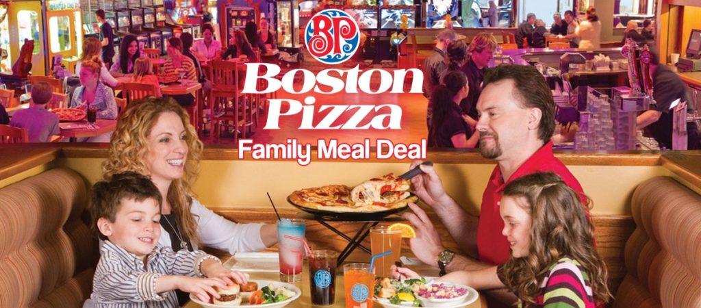 top 5 Boston Pizza Clifton Hill menu items
