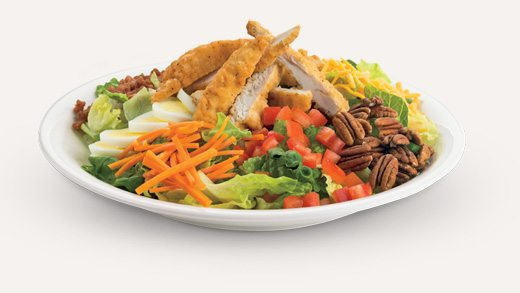Crispy Chicken Pecan Salad