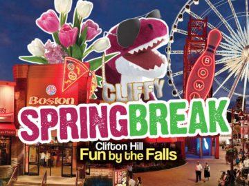 Spring Break in Niagara Falls Ontario