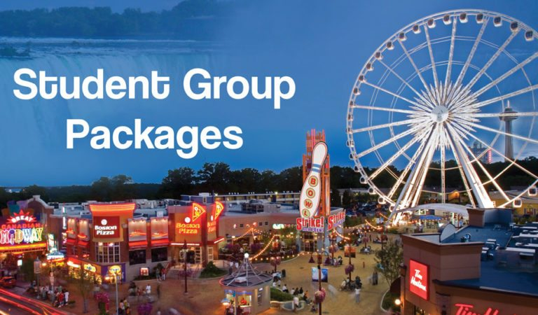 Niagara Falls Student Group Package on Clifton Hill