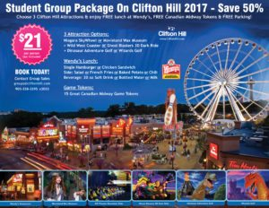 Clifton Hill Student Group Package