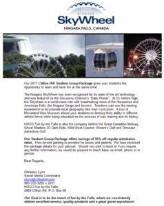Clifton Hill Student Group Packages