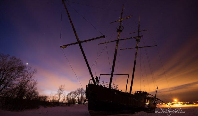 "That Abandoned Ship into Niagara: ""La Grande Hermine"""