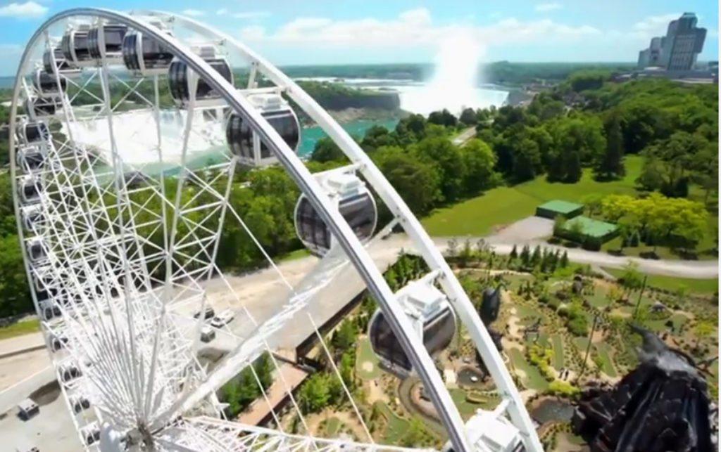 observation wheels around the world