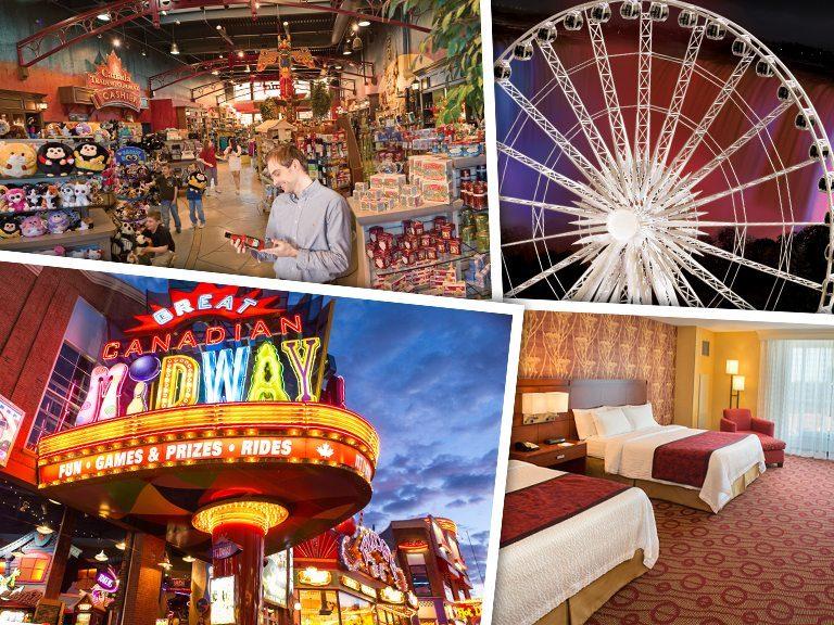 Shop, Play, and Stay in Niagara Falls, Canada