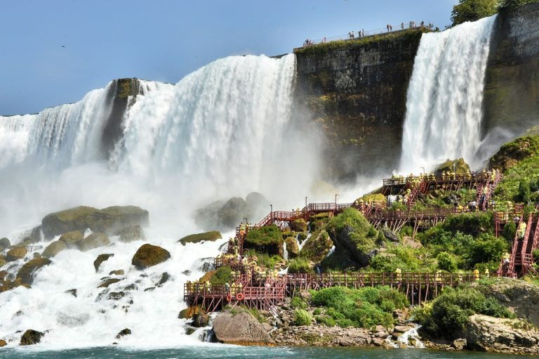 favorite places to get wet in Niagara