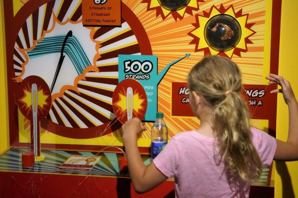 Interactive attractions and activities with kids