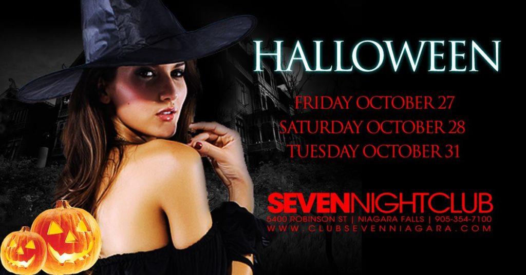 Niagara Falls Halloween Parties and Events
