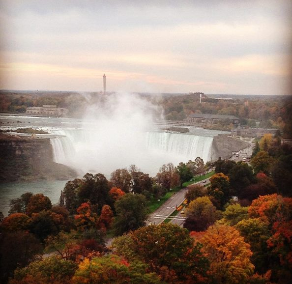Fall images from the Niagara SkyWheel