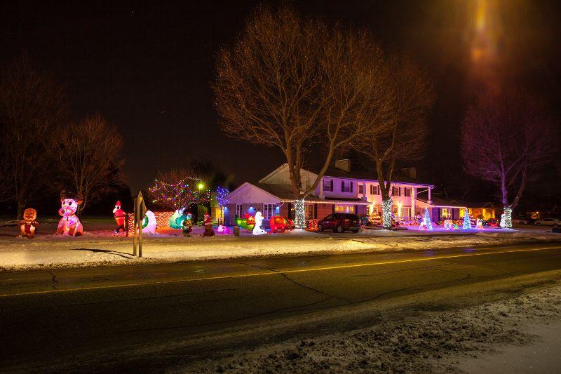 Winter Festival Of Lights In Niagara Falls