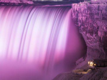Frozen Niagara Falls Photos