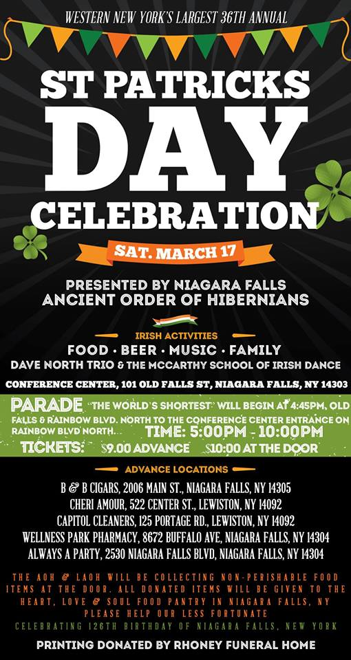 St. Patrick's Day in Niagara Falls