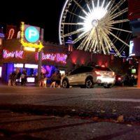 Long weekend parking in Niagara Falls