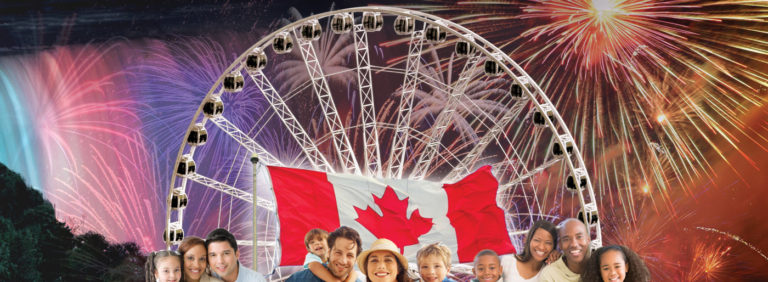 Canada Day in Niagara Falls