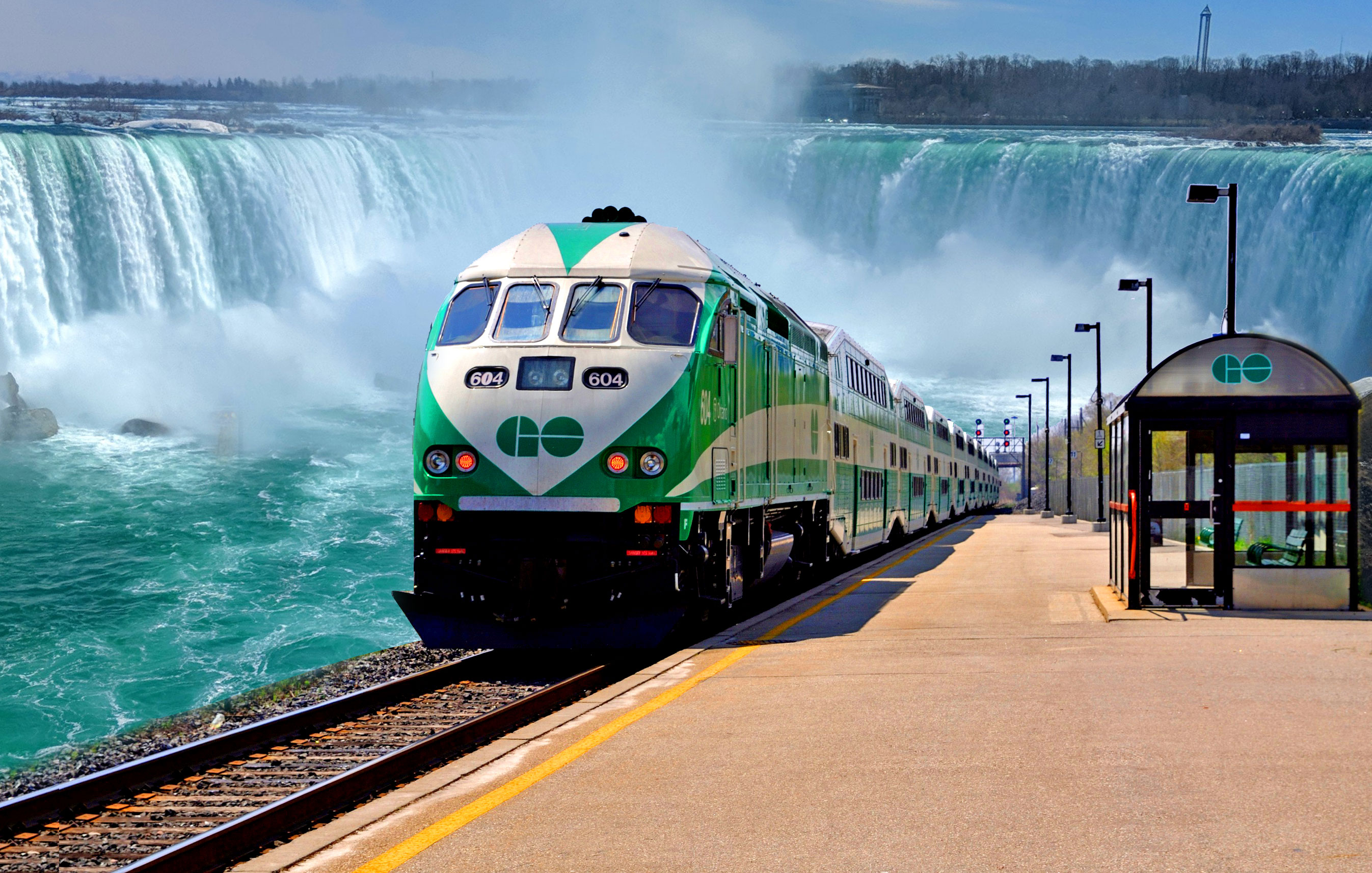 GO Transit Schedule - Go Train to Niagara Falls | Clifton