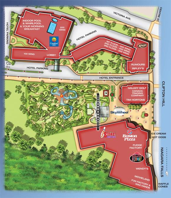 Property Map Clifton Hill Niagara Falls Canada
