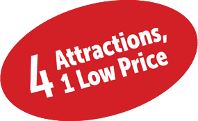 6 attractions 1 low price