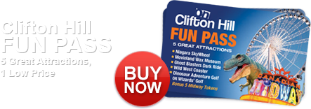 Clifton Hill Fun Pass 5 Great Attractions, 1 Low Price.