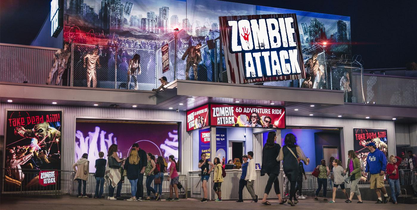 Zombie Attack Clifton Hill Niagara Falls Canada