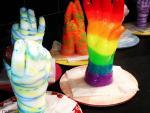Wax Hands inside the Fun Factory
