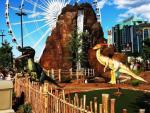 SkyWheel & Dinosaur Golf