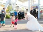 Wedding at the Niagara Skywheel